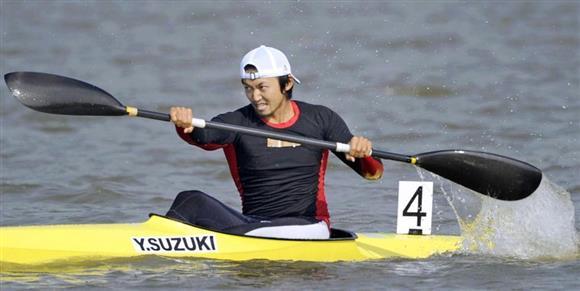 2010年11月、広州アジア大会に出場した鈴木。8年間の資格停止処分を科された(共同)