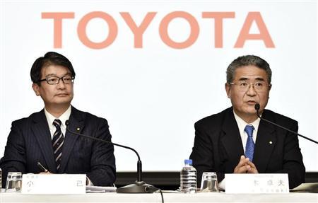 トヨタ4~6月期は営業益が過去最...