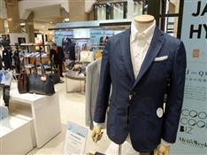 クールビズ商戦、百貨店が紳士服需要を喚起