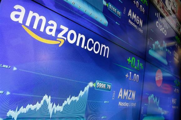 アマゾン株はウォール街の注目を集めている(AP)