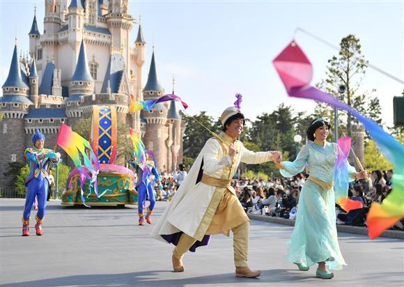 ドリーミング: 東京ディズニーリゾート悩ませる混雑 開園35周年で集客期待も