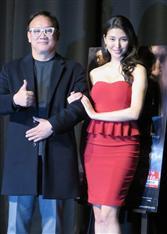 橋本マナミが真っ赤な衣装で色気ムンムン! キム監督「息がつまるほど強烈」