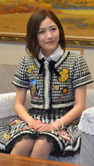 AKB48の渡辺麻友さん
