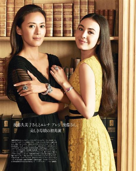 国民的美少女・後藤久美子さんの長女、エレナさん(20)芸能界デビュー