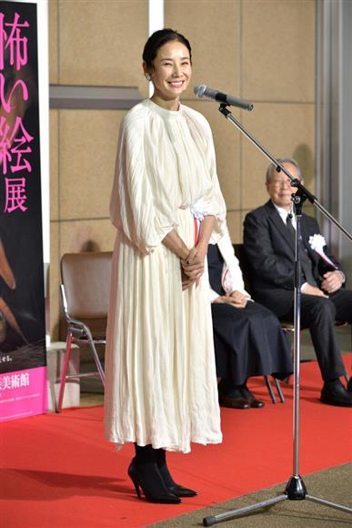 「怖い絵」展で展覧会ナビゲーターを務める吉田羊