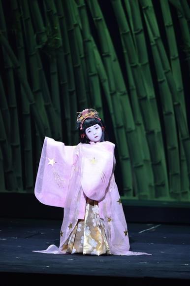 「日本むかし話」の「かぐや姫」で幼少のかぐや姫を演じた堀越麗禾ちゃん