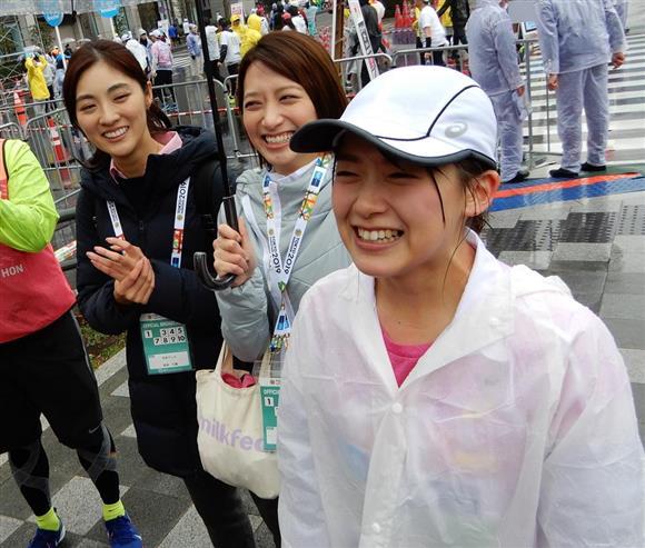 東京マラソン  -