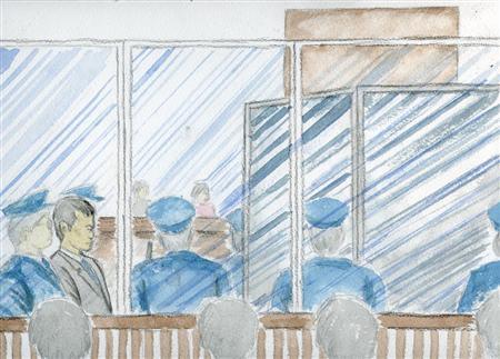 このニュースへ 証言台の後ろの遮蔽板に囲まれたオウム真理教元幹部、小池(旧姓・林)泰男... 平