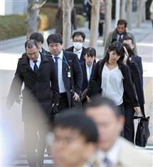 リニア不正入札 鹿島建設を家宅捜索 東京地検特捜部 独占禁止法違反容疑で