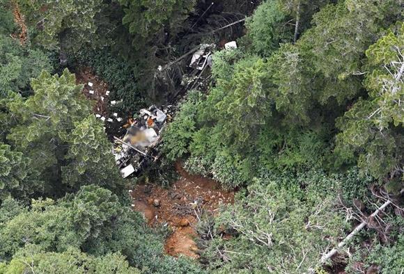 9人乗り群馬防災ヘリ墜落 2人死亡、7人容体など不明:イザ!