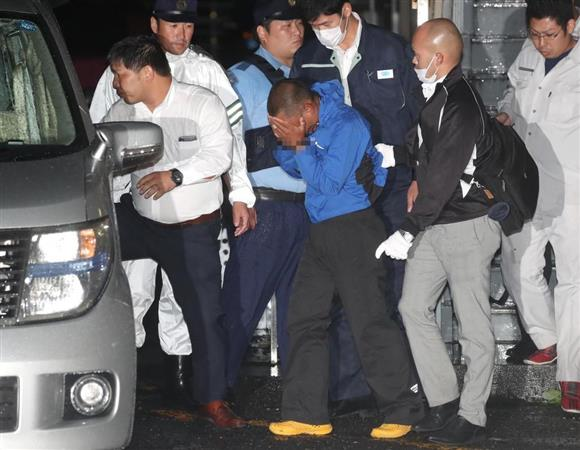 富田林逃走 逮捕後の樋田容疑者...