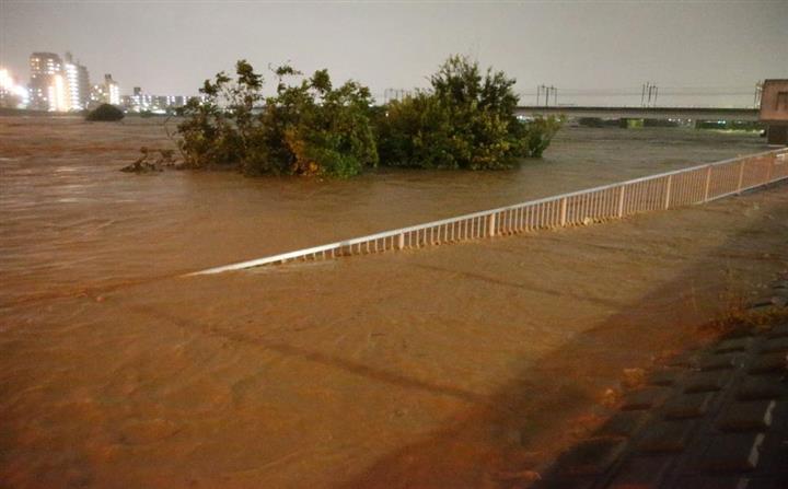 多摩川 水位