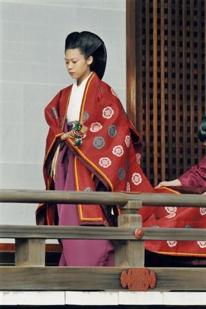 典子さまが先祖にご結婚報告 皇室にお別れの儀式 - イザ!