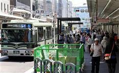 「悪夢」との声も…京都市・四条通の歩道拡幅工事で深刻な大渋滞