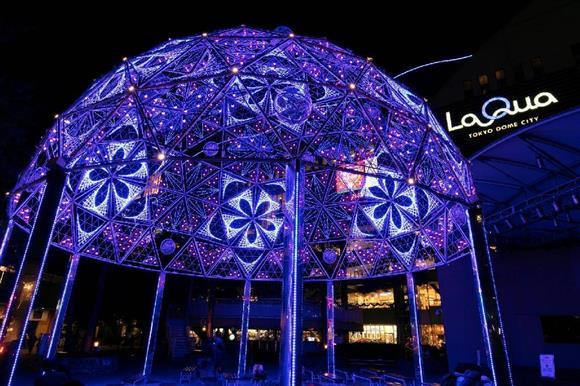 東京ドームシティ ラクーアエリアにある「ギャラクシードーム」