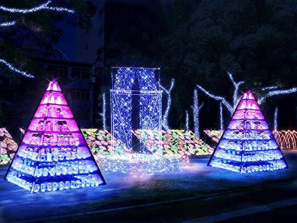 ひろしまドリミネーション「平和の灯火」