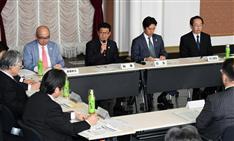 松井知事「大阪に世界に類みない圧倒的なIR実現する」 府と市が初の推進会議