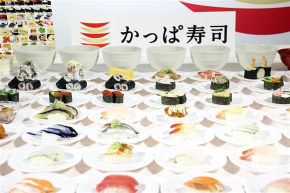 放題 食べ メニュー 寿司 かっぱ