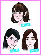 東京、ソウル、北京で女子のメークの違いは? 7都市で調べて分かった化粧に力を入れるタイミング