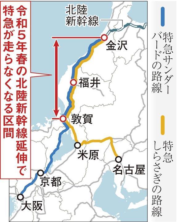 新幹線 延伸 北陸