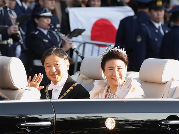 祝賀 写真 日本の徳仁天皇と雅子皇后が即位祝賀パレード 東京--人民網日本 ...