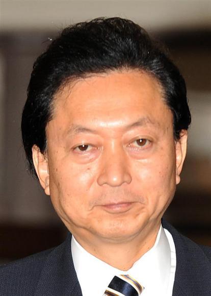 鳩山由紀夫首相(寺河内美奈撮影)