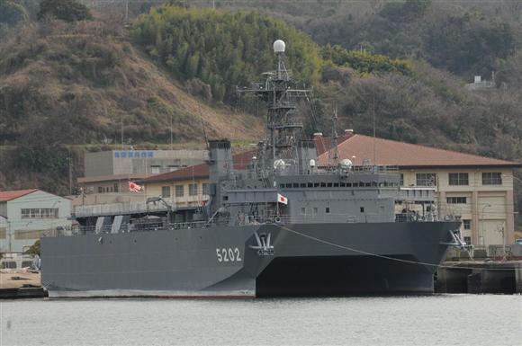 中国軍が最も忌み嫌う音響測定艦...