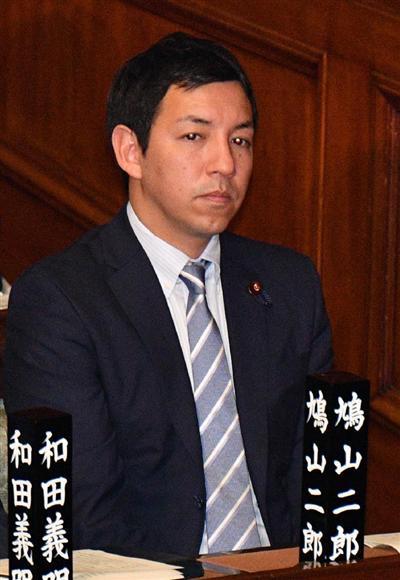 自民二階派に鳩山二郎氏入会 第3...