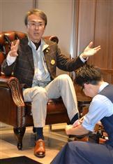 プレ金、石原伸晃再生相はデパートで特別料金の靴磨き