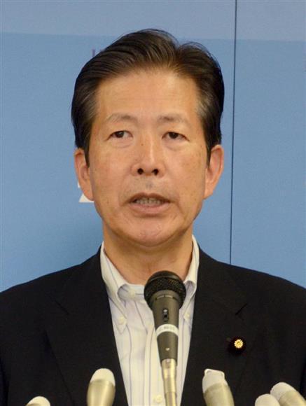 公明党の山口那津男代表(伴龍二撮影)