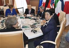 G7 事実上の議長国は日本 安倍首相「EUとトランプ氏が正面衝突しないように調整する」