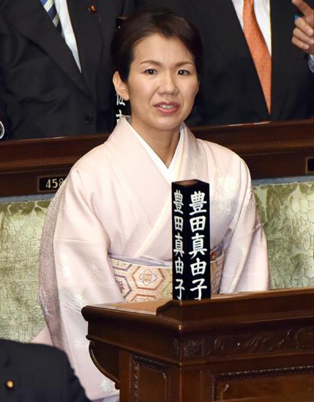 衆院本会議に臨む豊田真由子衆院議員=平成28年1月、