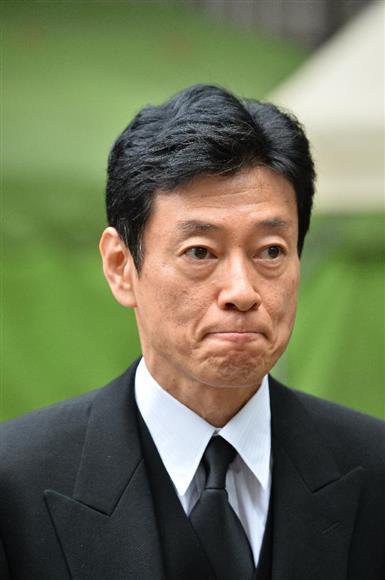 内閣改造 西村康稔氏が官房副長...