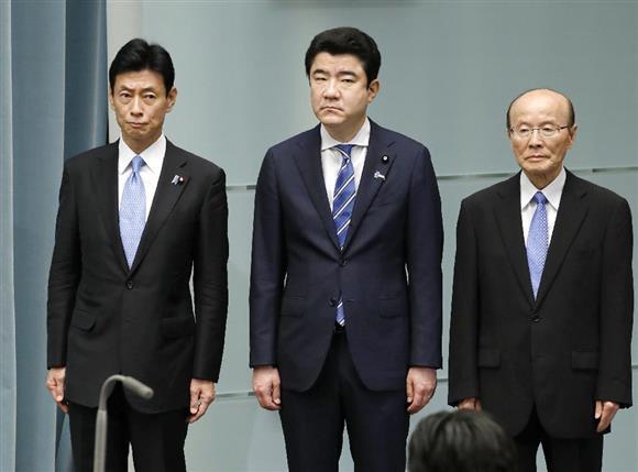 内閣改造 西村康稔官房副長官、...