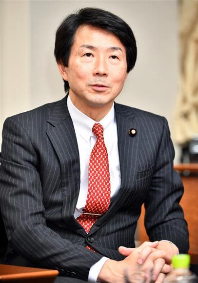 民進党の大塚耕平代表(斎藤良雄撮影)