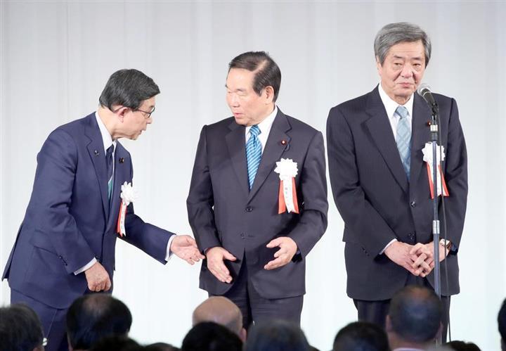 額賀会長「後進に道譲る」派閥会長退任を正式表明 後任は竹下氏:イザ!
