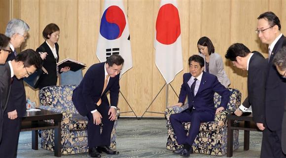 日韓首相会談 韓国 対話へ一定評価 徴用工問題姿勢は変わらず:イザ!
