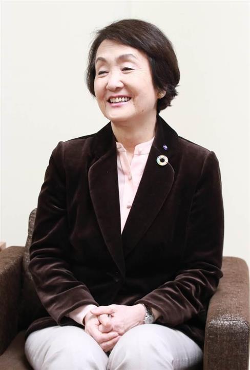 産経新聞のインタビューに答える横浜市の林文子市長|横浜市の林文子 ...