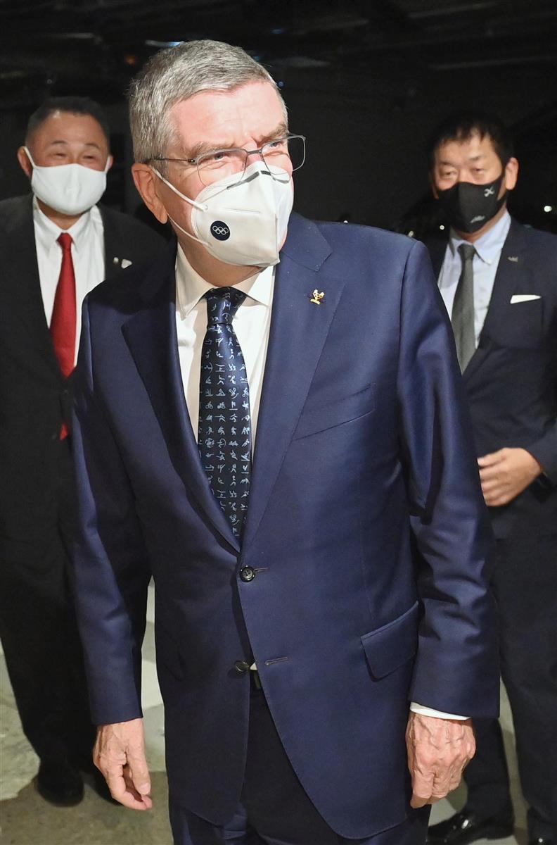 来日したバッハ会長。その腹づもりは… 五輪開催で「4兆円損失 ...