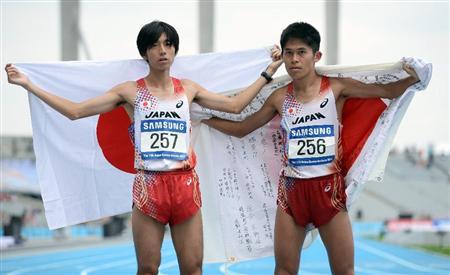 松村「銀」、川内「銅」、猫ひろしは完走選手中14位 マラソン アジア大会のフォトスライドショー:イザ!