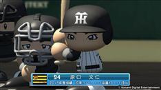阪神・原口、「実況パワフルプロ野球2016」に追加配信選手として登場