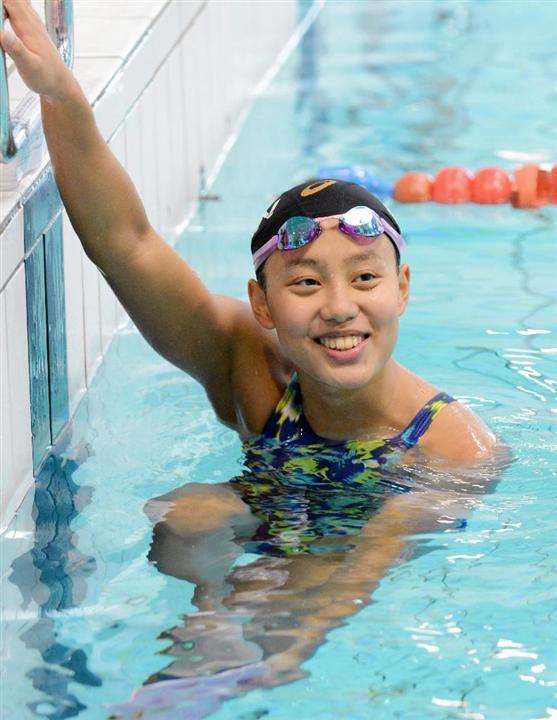 競泳女子の15歳 今井月 るな 初の高地合宿で奮闘 リオ五輪 イザ