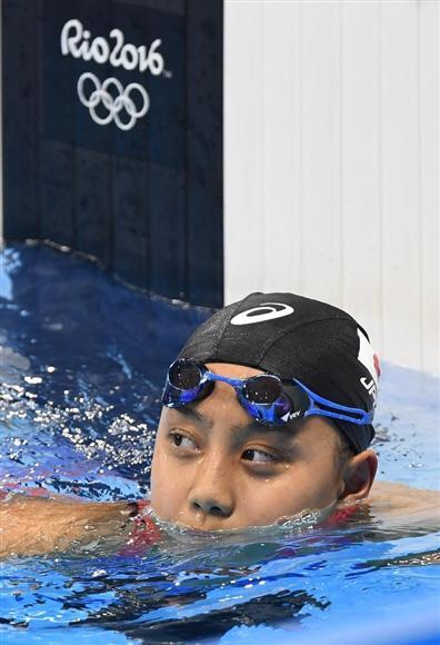 15歳の今井月が準決勝進出 とにかく楽しもうと泳いだ 女子200