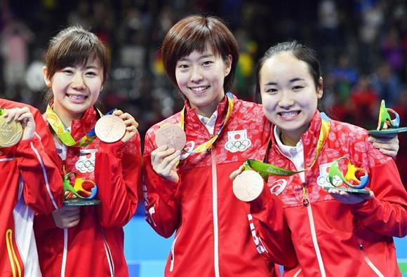 卓球 リオ オリンピック 結果