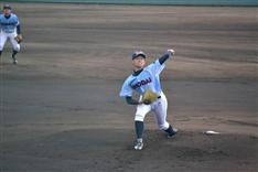 プロ注目の横浜商大の左腕・渡辺が3失点完投