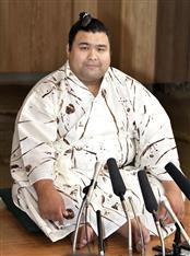 大関昇進確定の高安「模範、堂々とした大関に」 しこ名は変更せず 大相撲