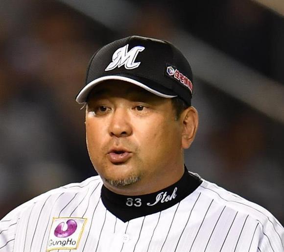 今季限りでの辞任を明かしたロッテ・伊東監督