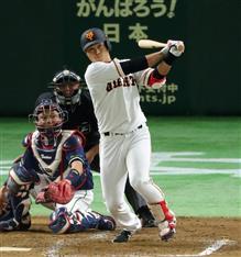 巨人・中井大介が球団通算1万本塁打