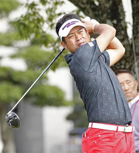 第1日、5アンダーで8位の池田勇太=京和CC