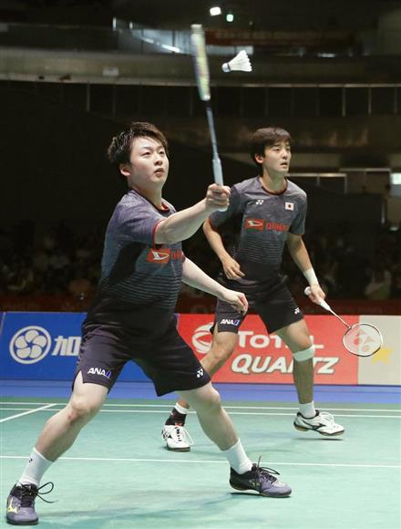 ジャパン・オープン男子複では決勝で敗れたものの、井上(左)、金子組は「イノカネ」の名を知らしめた